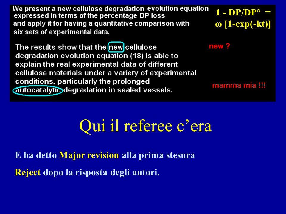1 - DP/DP° = ω [1-exp(-kt)]